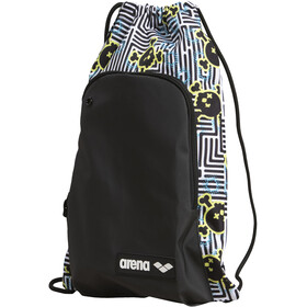 arena Team Sack Allover Sport Bag, crazy labyrinth